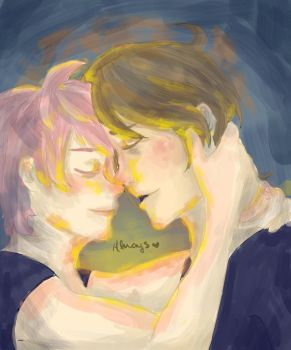 Lupin + Tonks- Always by ThatRandomGurl