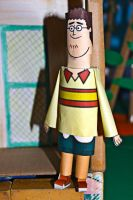 Sam TDROTI from Total Drama Papercraft by ViluVector