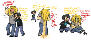 Norse Gods Party Hard by Squidbiscuit