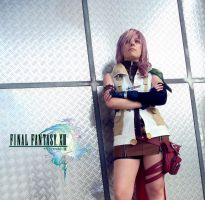 Lightning Cosplay 2 - Final Fantasy XIII by mmmhOmoshiroi