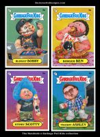 The Hundreds x Garbage Pail Kids collection by DeJarnette