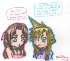 The Cetra's Jealousy by cleris4ever
