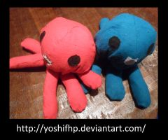 How to make: Homestuck Squiddle Plush by YoshiFHP