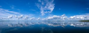 Karelian Lake Panorama by sapegin