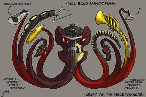 COTND: Coral Riff Boss Concept by jouste