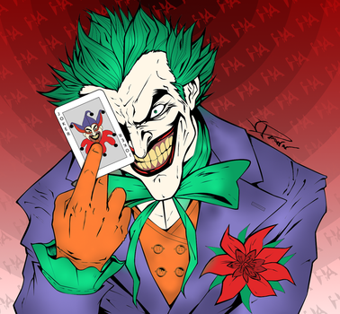 Why So Serious? by AZombieLovesMe