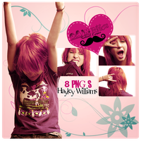 Pack PNG Hayley Williams (Paramore) by GAJMEditions