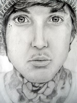 Oliver Sykes by Drakeshya
