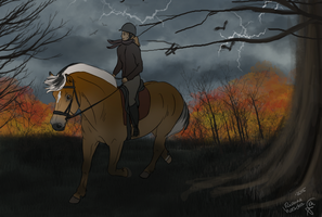 Autumn storm by xSapience