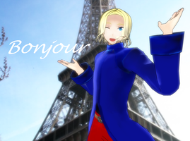 France mmd Bonjour by Ringtail14