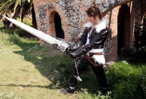 Squall Dissidia V by alsquall