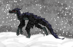 Raptor of the Snow by Temorali