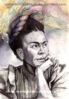 Frida Kahlo by MoKaShiNes