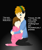 ''It's OK'' - Beyond Two Souls by Dragonsong3