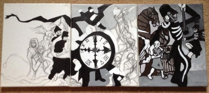 Black Parade Lives One WIP by InvisibleCorpseGirl