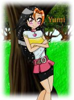 Yumi (Request) by YanatheHedgehog