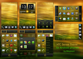 Htc Sense Theme by malytopol