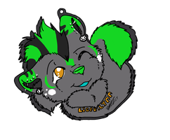 Liger-lin Headshot badge by XxPuppyProductionsxX