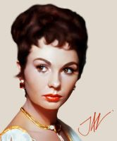 Jean Simmons by JALpix