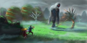 the mythical beast capture by trunkssss