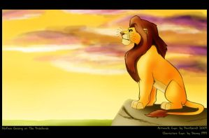 Mufasa is Watching by Panimated