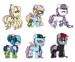 Mane 6 Crack Shipping Adopts OTA (CLOSED) by TearyIris