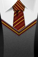 Gryffindor Tie HD iphone wall by Tinsdar