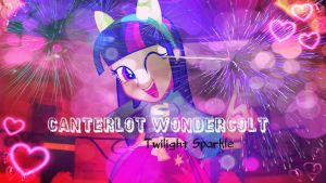 Twilight Sparkle EG Wallpaper by mumble76