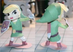 WW Link Papercraft by Whuzzit