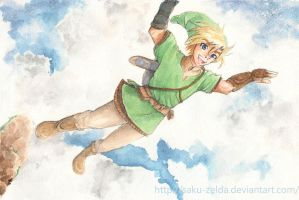 Link - Skyward Sword by Saku-Zelda