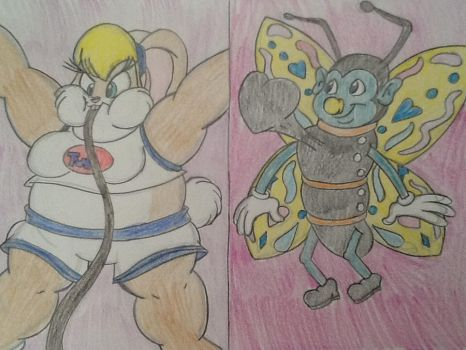 (PC) *~Lola's Inflation and Shrignold in Love~* by CottonCatTailToony