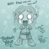 THANK YOU FOR THE VIEWS!! by ThePurpleSorcerer