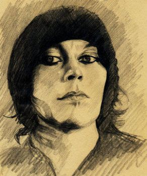 Ville Valo by Lyantasse by RaZoRbLaDeRoMaNcEs