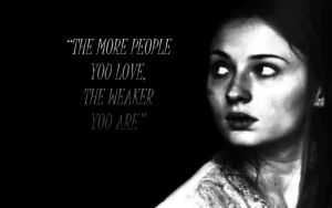 The More People You Love, The Weaker You Are by GreenRaven28