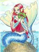ACEO - A Present by PickledPixie