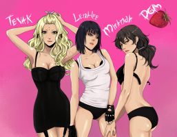 DGM sexy girls by Purple-Meow