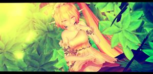 [MMD] The depths of the forest~ by KokoneAkita
