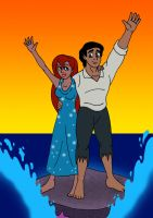 The 25th Anniversary of The Little Mermaid by streetgals9000