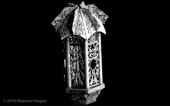 Ancient Norse Iron Lantern by ShannonTeague