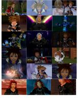 Kingdom Hearts funny faces. by Roxas-X-Axel-4ever