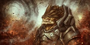 Krogan by Dandzialf
