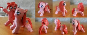 Lonely Pinkamena Statuette by nicolaykoriagin