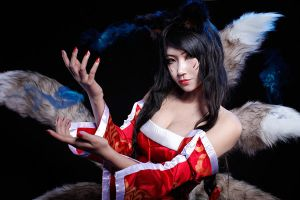 League of Legends_ahri by yoo-oo