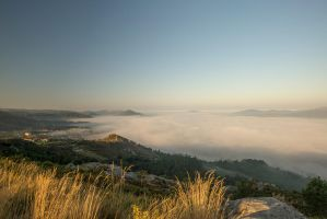 a sea of clouds by MarcosRodriguez
