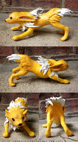 Jolteon Sculpture -For Sale- by Jeakilo
