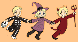 FMA-Trick or Treat by queenbean3