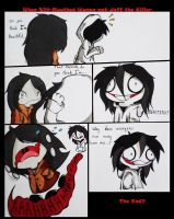 Slit Mouthed Woman Vs Jeff The Killer by cartunime500