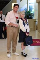 Usagi Tsukino High School 2 by SinnocentCosplay