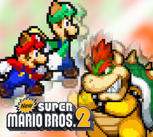 New Super Mario Bros.2: The Ultimate Showdown by FaisalAden