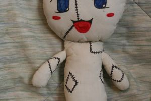 the 1st doll i ever made by inupuppy1412